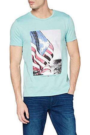 Tommy Hilfiger Flag Photo Print tee Camiseta Deporte