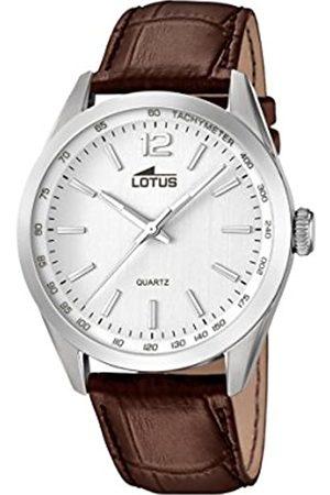 Lotus Reloj Analógico para Hombre de Cuarzo con Correa en Cuero 18149/1