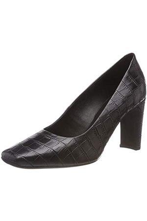Geox D Vivyanne High A, Zapatos de Tacón para Mujer, (Black C9999)