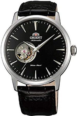 Orient Reloj Analógico para Unisex Adultos de Automático con Correa en Cuero FAG02004B0