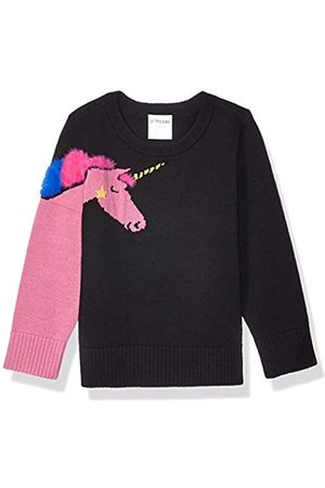 Spotted Zebra Pullover Crew Sweaters