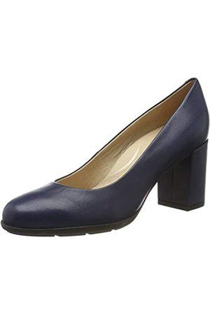 Geox D New Annya A, Zapatos de Tacón para Mujer, (Blue C4000)