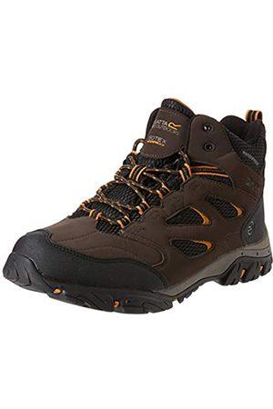 REGV7|#Regatta Holcombe Iep Mid, Walking Shoe Mens, (Peat/Inca Gld 2lp)