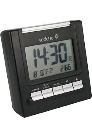 Vedette VR30022 - Reloj unisex de cuarzo con correa negra