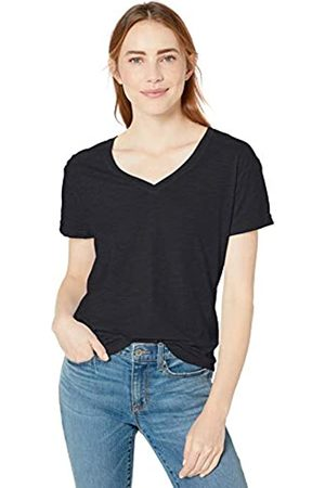 Goodthreads Vintage Cotton Roll-Sleeve V-Neck T-Shirt Camiseta