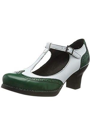 Art 1067 City-Leader Harlem, Zapatos de tacón con Punta Cerrada para Mujer, (Pine/White Pine/White)