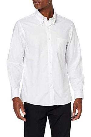 Brooks Brothers DS OG Ni Pbd Ox Mil Darted SLD Wht Camisa de Vestir