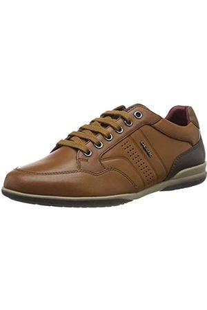 Geox U Timothy B, Zapatos de Cordones Derby para Hombre, (Cognac C6001)