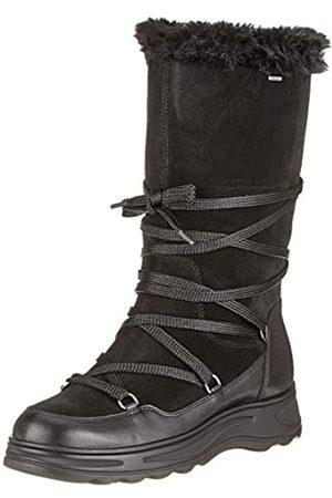 Geox D HOSMOS B ABX B, Botas de Nieve para Mujer, (Black C9999)