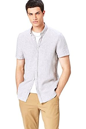 FIND Short Sleeve Linen Camisa