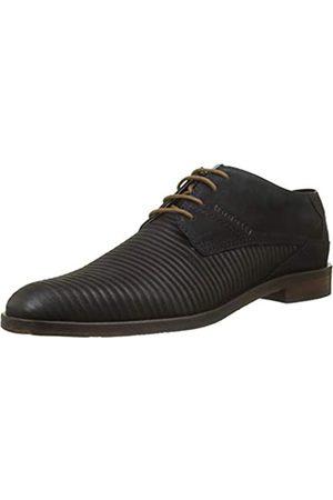 Bugatti Hombre Con cordones - 3.11528E+11, Zapatos de Cordones Derby para Hombre, (Dark Blue 4100)