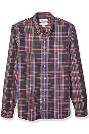 Goodthreads Slim-Fit Long-Sleeve Plaid Poplin Shirt button-down-shirts