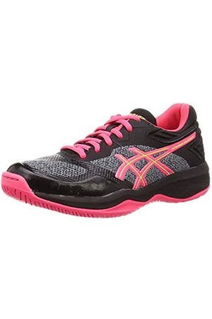 Asics Netburner Ballistic FF, Zapatos de Voleibol para Mujer, (Black/Laser Pink 001)