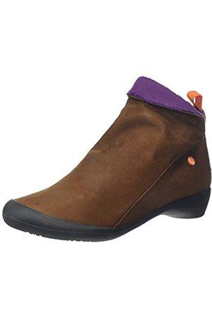 softinos Farah, Botines para Mujer, (Cognac/Purple Mohair 590)