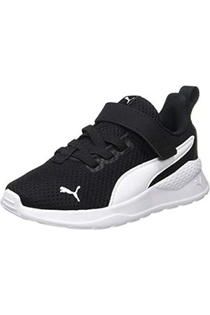 Puma Anzarun Lite AC PS, Zapatillas Unisex bebé, Black White 01