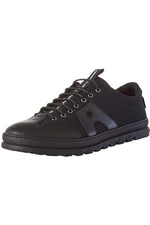 Art 1527 Multi Leather Mainz, Zapatos de Cordones Brogue para Mujer, (Black Black)