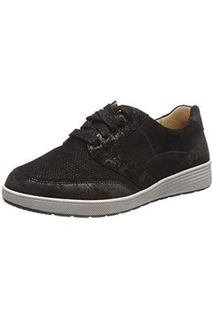 Ganter Sensitiv Klara-k, Zapatos de Cordones Derby para Mujer, (Schwarz 01000)