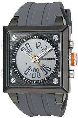 CEPHEUS CP900-622B - Reloj analógico y Digital de Cuarzo para Hombre con Correa de Silicona