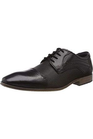 s.Oliver 5-5-13200-22 001, Zapatos de Cordones Oxford para Hombre, (Black 1)