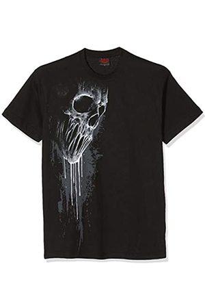 Spiral Bat Curse-Front Print T-Shirt Camiseta