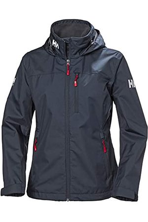 Helly Hansen W Crew Hooded Midlayer Chaqueta Impermeable, Cortavientos y Transpirable para Mujer, con Forro Polar Integrado