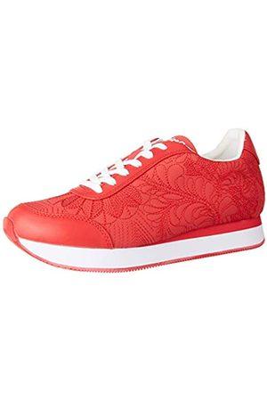 Desigual Shoes Galaxy Lottie, Zapatillas para Mujer, ( ROJA 3061)