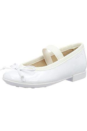 Geox Jr Plie' I, Bailarinas para Niñas, (Whitec1000)