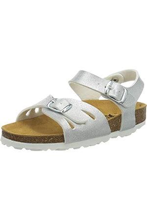 LICO Bioline Sandal, Mules para Niñas, (Silver Silver)
