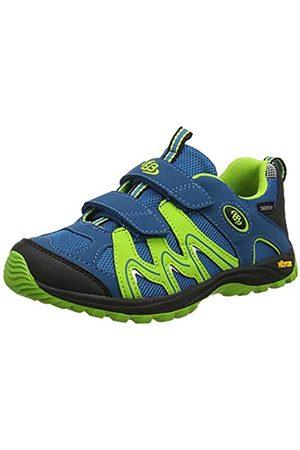 Bruetting Vision V Kids, Zapatos de Low Rise Senderismo Unisex Niños, Petroleo/Lemon/Schwarz