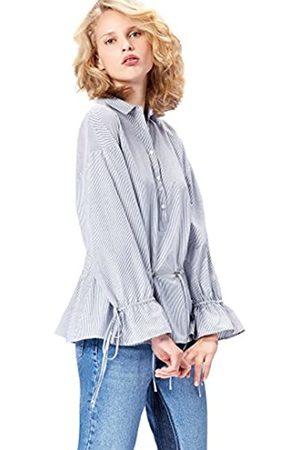 FIND Blusa Camisera con Cintura Ajustable para Mujer