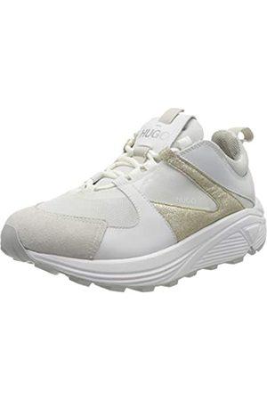 HUGO BOSS Horizon_Runn_glitt 10224065 01, Zapatillas para Mujer, (Gold 712)