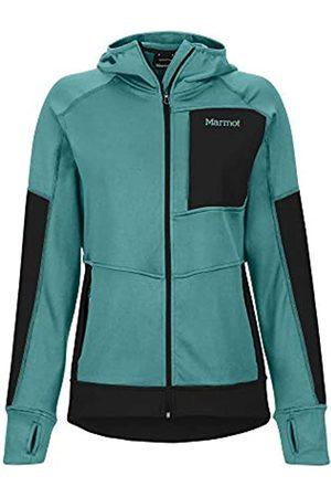 Marmot Wm's Dawn Hoody Polar, Chaqueta Outdoor, Transpirable, Resistente Al Viento, Mujer