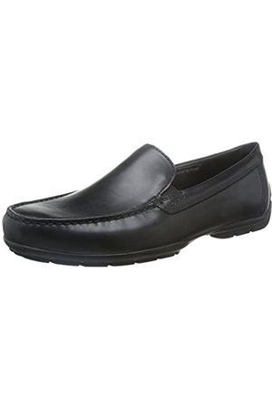 Geox U Moner W 2Fit, Mocasines para Hombre, (Black)