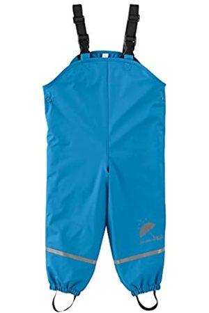 Sterntaler Pantalón impermeable con peto forrado para niños, Edad: 4-5 Años, Talla: 110