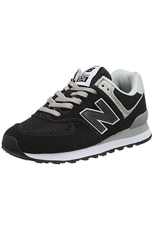 New Balance WL574EB, Zapatillas Mujer, (Black)