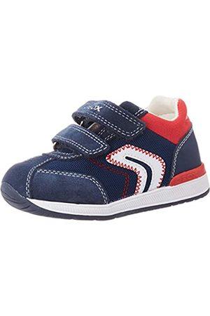 Geox B Rishon Boy B, Zapatillas para Bebés, (Navy C4002)