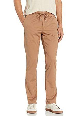 Goodthreads Slim-Fit Washed Chino Drawstring Pant casual-pants, Caqui (British Khaki)
