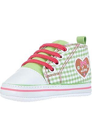 Playshoes Primeros Zapatos Patrón del corazón, Zapatillas Casual Unisex bebé, (Gruen 29)