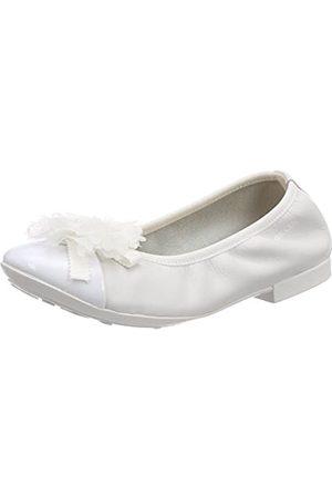 Geox Jr Plie' B, Bailarinas para Niñas, (White)