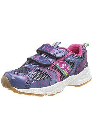 LICO Silverstar V, Zapatillas de Deporte Interior para Niñas, Blau/Pink