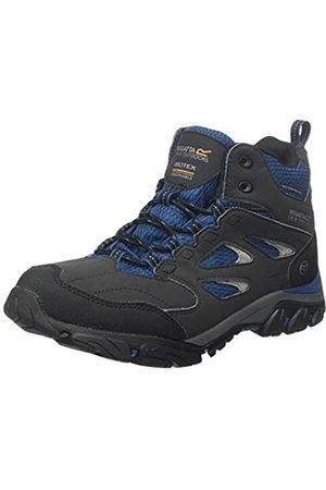 Regatta Holcombe Iep Mid' Waterproof Boots, Botas de Senderismo para Mujer, (Ash/Blue Opal W56)