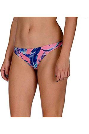 Hurley W Q/D Floral Surf Bttom Partes De Abajo Bikini, Mujer