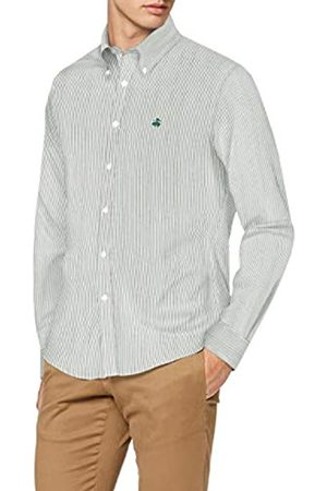 Brooks Brothers Ni Pinpoint Yarndyes Milano Altstpeden Camisa Casual