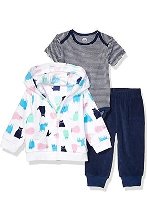 Amazon 3-Piece Microfleece Hoodie Set Infant-and-Toddler-Pants-Clothing-Sets
