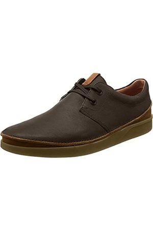 Clarks Oakland Lace, Zapatos de Cordones Derby para Hombre, (Dark Brown Leather)