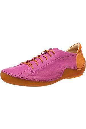 Think! Kapsl_484062, Zapatos de Cordones Brogue para Mujer, (Fuxia/Kombi 36)