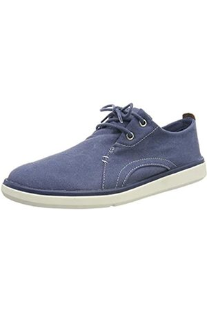 Timberland Gateway Pier Casual, Zapatos de Cordones Oxford para Hombre, (Dark Blue Canvas)