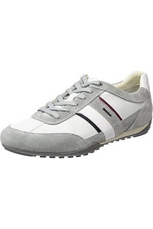 Geox U Wells C, Zapatillas para Hombre, / (Light Grey/White)