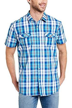 Pioneer Shirt SS Check, Camisa Hombre, (Riviera 557)