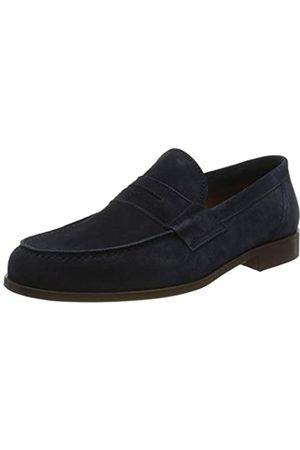Lottusse L7212, Mocasines (Loafer) para Hombre, (Camoscio Marino Camoscio Marino)